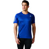 adidas Response Hardloopshirt korte mouwen Heren blauw